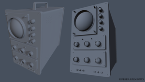 High Poly Oscilloscope by Rubber-Rainbows