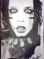 Andy Biersack by CreepahChick