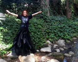 Gothic dancer queen Sofia - welcome to my forest by SOFIAMETALQUEEN