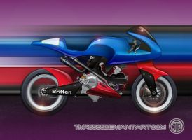 Britten bike w ducati Engine by tmr5555