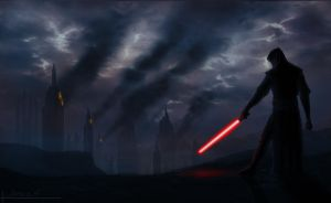 Star Wars Sith Painting Design by PropaPortraits