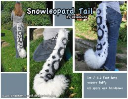Snowleopard Tail by Phantom--Wolf