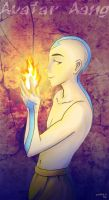 Avatar Aang by Irrel