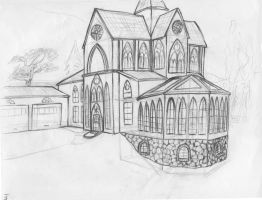 Cathedral House by clearwater-art