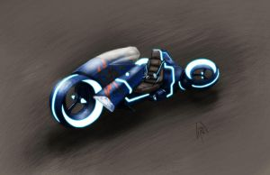 Hover bike concept colors by peetietang