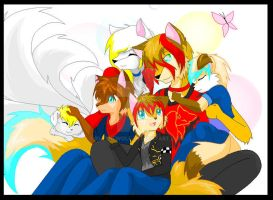 Family picture :3 by KiaTheWolf