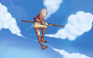 Avatar Aang! by Parimak
