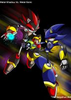 Metal-Shadow vs. Metal-Sonic by negathus