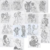 Couples by makche