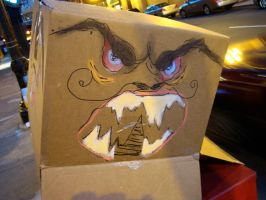 Mad Box Man by MoreThanNothing