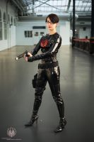 G.I. Joe - Baroness Full Shot by faramon