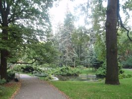 Park in Lodz 1 by Woolfred
