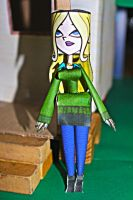 Dawn TDROTI from Total Drama Papercraft by ViluVector