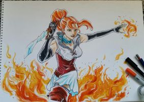 Maiden of Fire by eloy1702