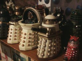 Doctor Who - Up on the shelf by DoctorWhoOne