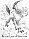 The Return Of Absol by UMBR-Angel