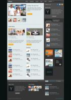 Yana: News Blog Template by burnstudio