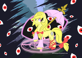 Youkai Pony of Boundaries by MrRowboat