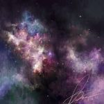 Burning Passion- nightly stars by Puillustrated