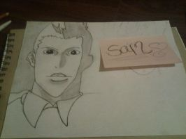 WIP supernatural drawing Dean and Sam Winchester by monkee426