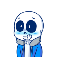 Smol Skele by DoodleSoupe