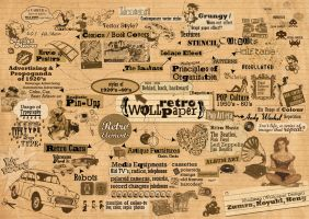 Retro Mindmap by zummi