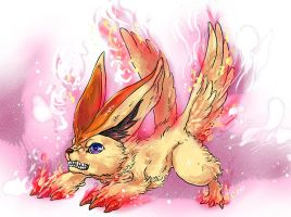 Victini RAEG by heatrailshade