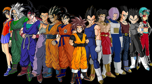 Dragonball AF Saiyan Survivors by Goco-Tarrus