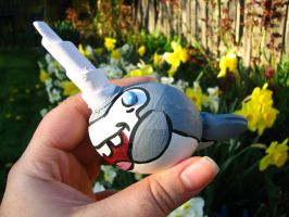 Narwhal Egg by thedustyphoenix