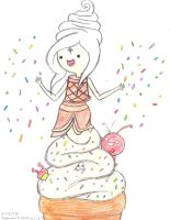 Frosen Yogurt Princess by Suemoons