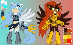 Alicorn Generals by MintyStitch