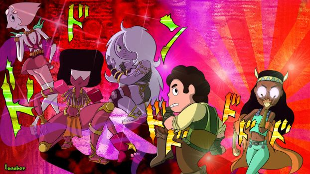 Steven's Bizarre Adventure by Lucabor
