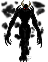 The Shadow Demon's True Form by lizluvsanime2