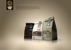 Night Cap Cafe - Packaging by GerCasey