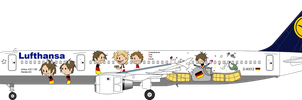 SATW livery - Germany by SkyRider747