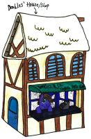 Doodles - House and Shop by KrytenMarkGen-0