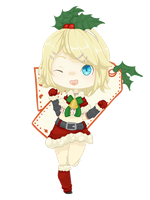 Christmas Rin by pocketplanets