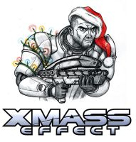 XMass Effect by Christhopper