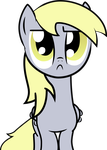 Serious Derpy by Felix-KoT