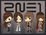 I LOVE YOU 2NE1 by xcry