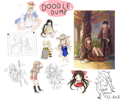doodle dump by redyew