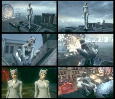 White Suit Catwoman Final by MrJustArkhamGames