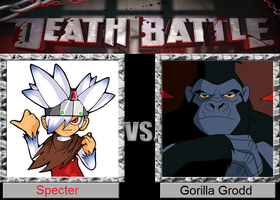 Psychic Simian death battle by Salem-the-Psychic