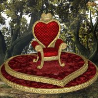 Heart Thrones by oldhippieart