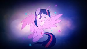 Wallpaper lovely Twilight Sparkle by Barrfind