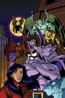 GARGOYLES 3 Cover Colors by bonegoddess