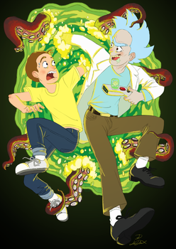 Oh Geez, Rick! by Lea007