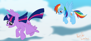 Afternoon flight by Faunafay