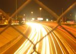 City Traffic at Night by Asphyxiator