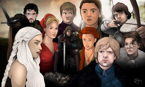 A Game of Thrones by foffern
